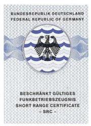 Picture of Funkbetriebszeugnis Short Range Certificate (SRC)
